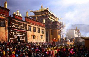 Songzanlin Monastery in Shangrila