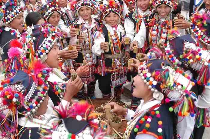 Yekuzha Festival of Aini Ethnic People in Xishuangbanna