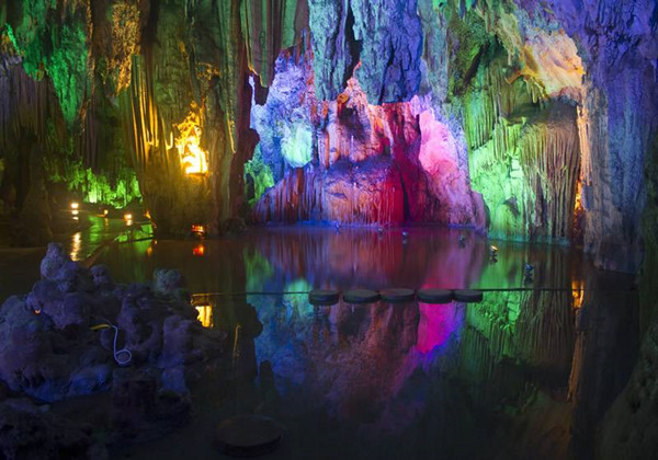 Alu Cave in Luxi County, Honghe