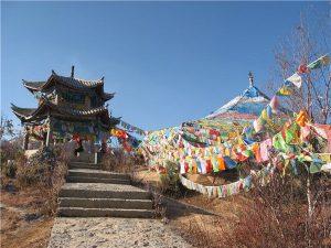Baiji Monastery in Shangrila