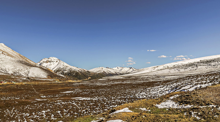 Baima Snow Mountain Pass in Deqin County, Diqing