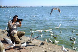 Dianchi Lake in Kunming