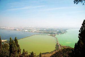 Dianchi Lake in Kunming.