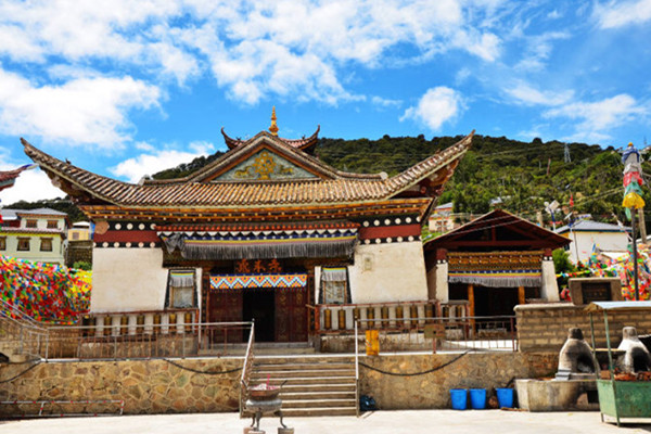Feilaisi Monastery in Deqin County, Diqing