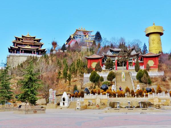 Guishan Monastery in Shangrila, Diqing
