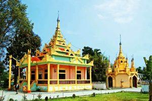 Hansa Zangfang Temple in Ruili City, Dehong