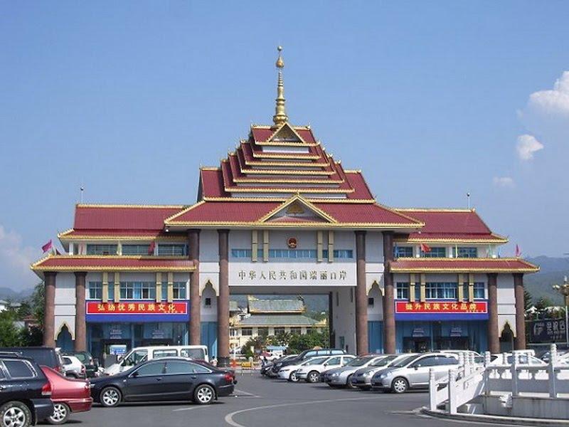 Jiegao Border in Ruili City, Dehong