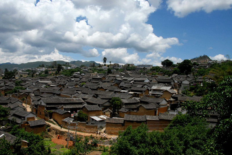 Lushi Old Town in Fengqing County, Lincang