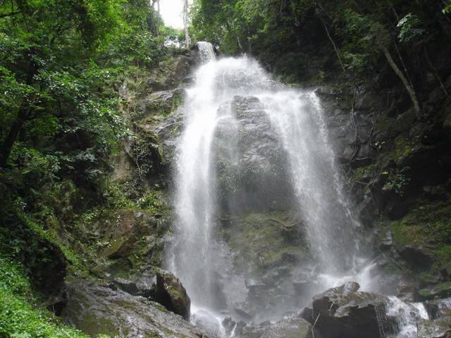 Mandian Waterfall in Jinghong City, Xishuangbanna