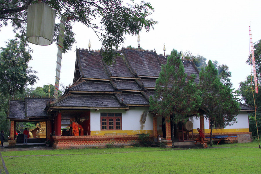 Mengjinglai Village in Menghai County,Xishuangbanna