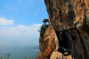 Western Hills and Dragon Gate in Kunming.