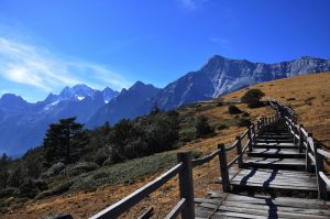 Yak Meadow Chairlift of Jade Dragon Snow Mountain, Lijiang