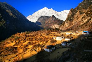 Yubeng Village in Meili Snow Mountain, Diqing