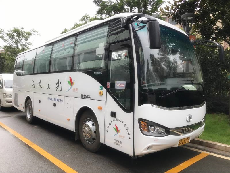 38-Seat Tourist Bus of Yunnan Exploration