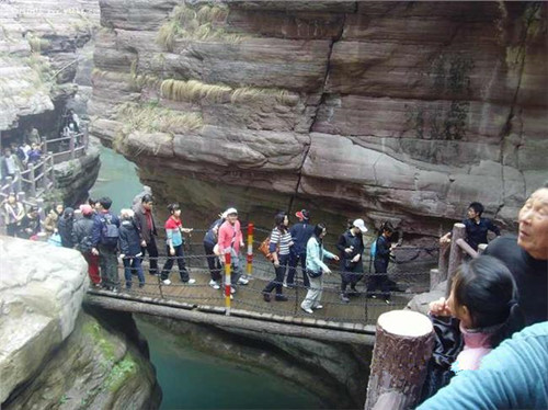Qinglong Gorge in Anning City, Kunming