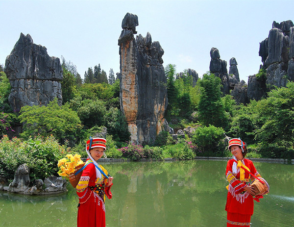 The Small Stone Forest in Shilin County, Kunming