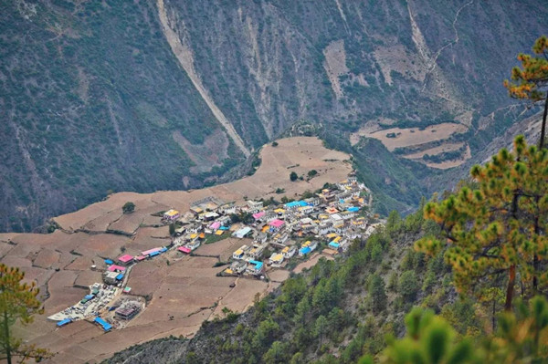 Abing Village of Meili Snow Mountain, Diqing