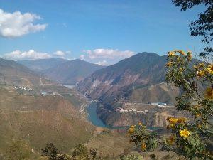 Xiaowan Dam Tourist Area of Mekong River in Fengqing County, Lincang