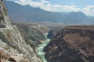 The Lower Section of Tiger Leaping Gorge