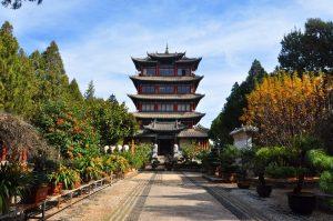 Wangu Pavilion in Lijiang
