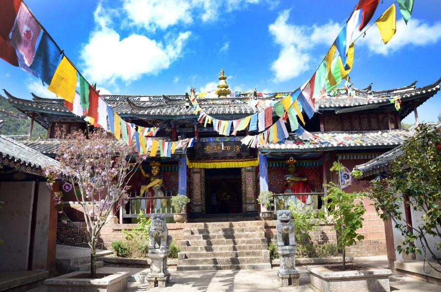 Yufeng Monastery in Lijiang