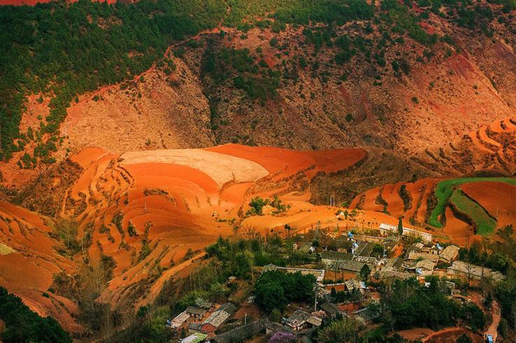 Damakan Village of Dongchuan Red Land, Kunming