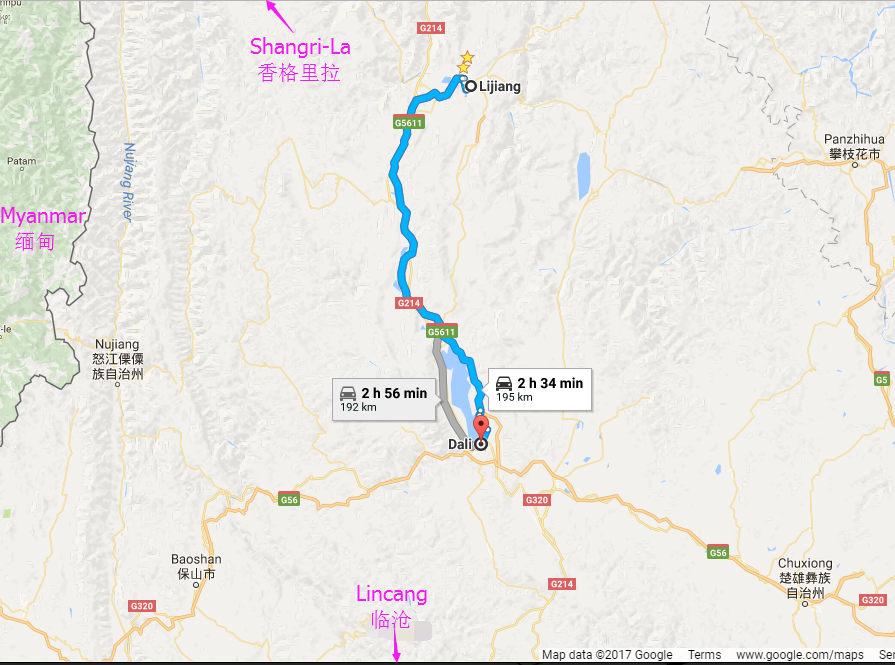 Lijiang-Dali Transportation: By Long-distance Bus and By Train