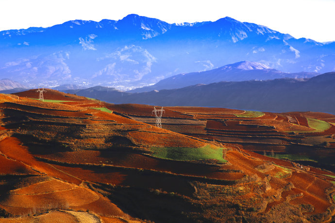 Jinxiuyuan of Dongchuan Red Land, Kunming