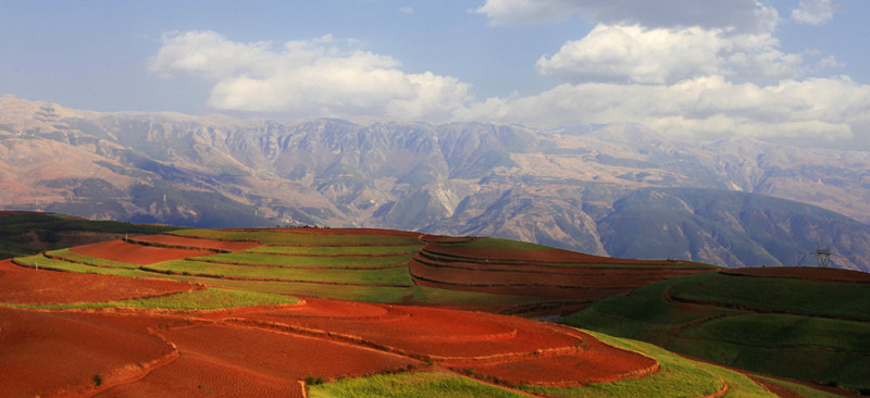 Lepuao Village of Dongchuan Red Land, Kunming