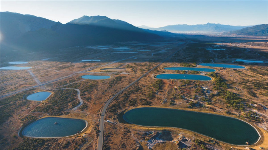 The Pearl Lakes of Jade Dragon Snow Mountain in Lijiang