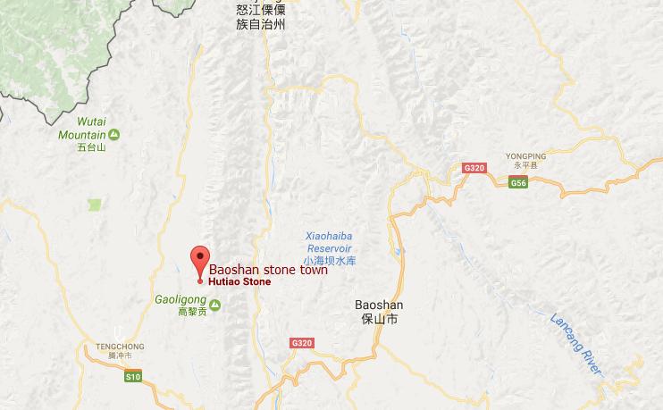 Baoshan Maps Baoshan Tourist Maps Baoshan Tour Routes Map - Baoshan map