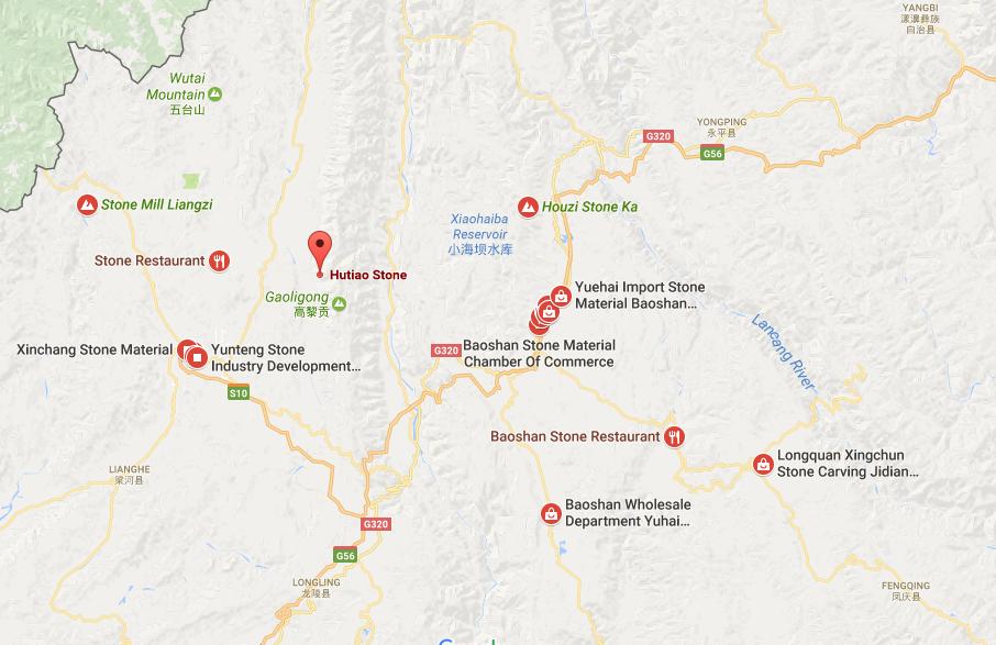 Yunnan Exploration Yunnan Travel Yunnan Trip Yunnan Tours - Baoshan map