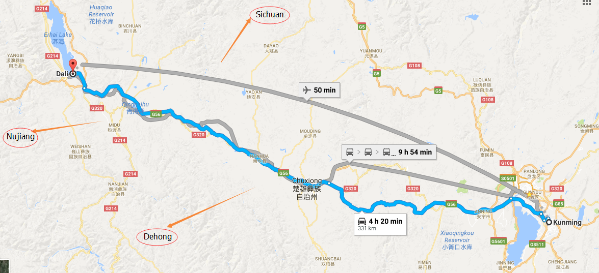 How to Travel from Kunming to Dali