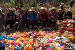 The March Fair of Bai Ethnic Minority in Dali