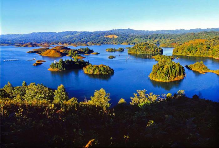 Kaibangya Lake in Yingjiang County, Dehong