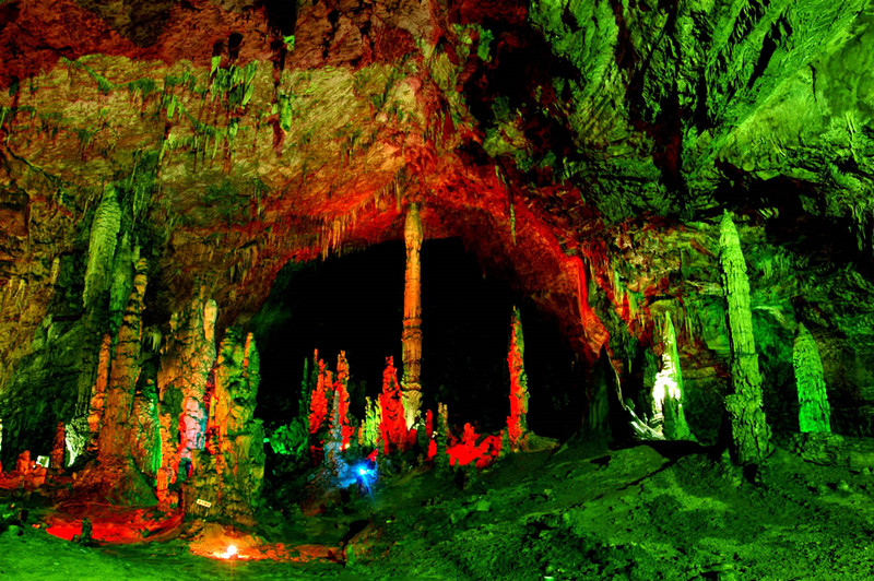 Sigangli Cave in Cangyuan County, Lincang