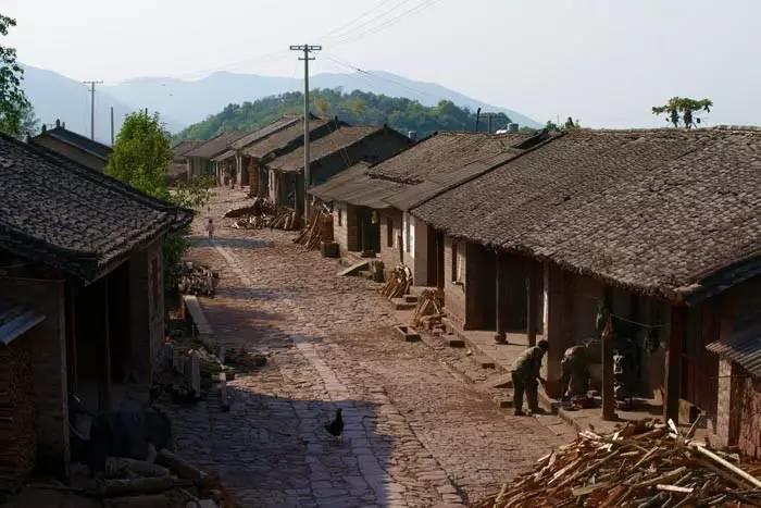 Yibang Old Town in Mengla County, XishuangBanna