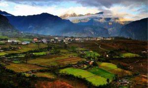 Bingzhongluo Scenic Area, Nujiang