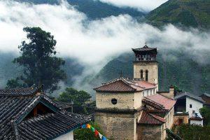 Cizhong Catholic Church in Deqin County, Diqing