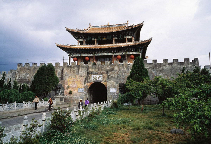 The Ancient City Wall of Dali
