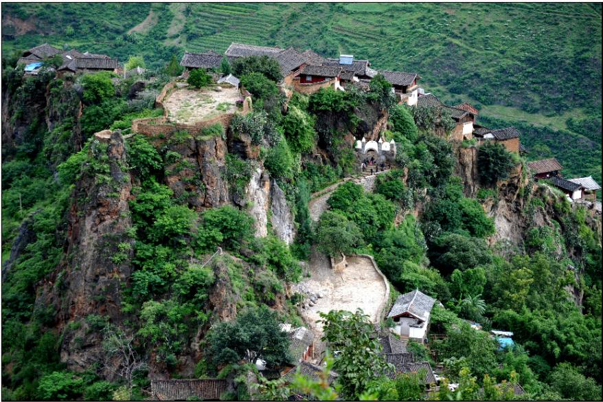 Baoshan Stone Village in Lijiang