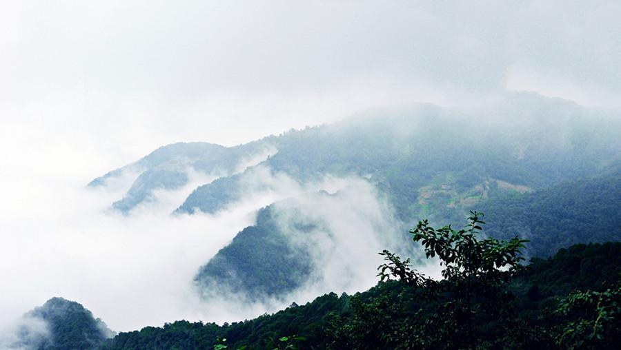 Ailaoshan Mountain Range in Yunnan