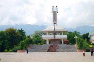 Baima Square in Gengma County, Lincang