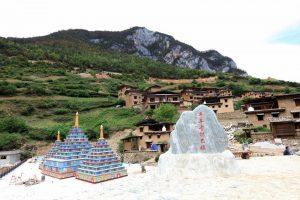 Bala Village in Shangri-La, Diqing