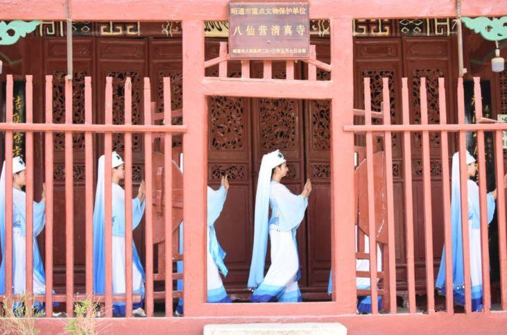 Baxian Grand Mosque in Zhaotong City