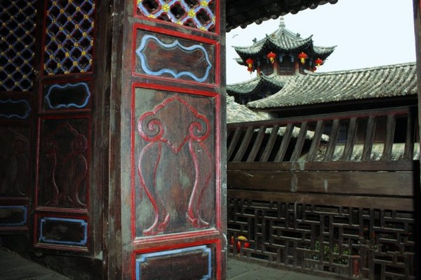Bixi Ancient Town in Mojiang County, Puer
