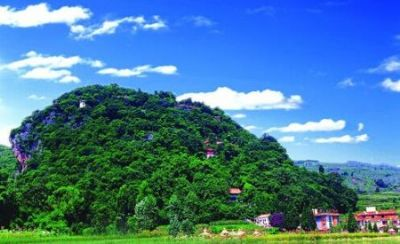 Biyun Mountain in Jiangchuan District, Yuxi