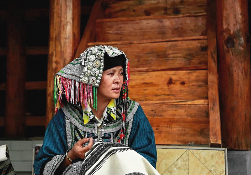 Chengzhai Village and Bailuo Ethnic People in Malipo County, Wenshan