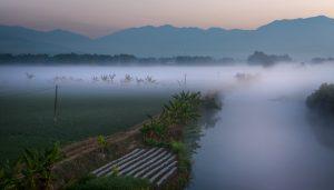 Dayingjiang River in Yingjiang County, Dehong