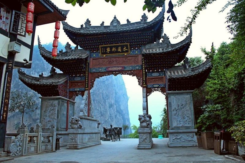 Dousha Old Town in Yanjin County, Zhaotong